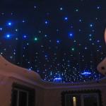 Натяжные потолки «Звездное небо».