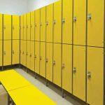 Шкафы для раздевалок — высокая безопасность и большая вместимость
